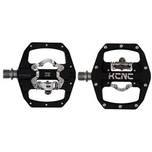 KCNC FR TRAP Clipless Pedal, black, dual side, CroMo Spindle,  184g