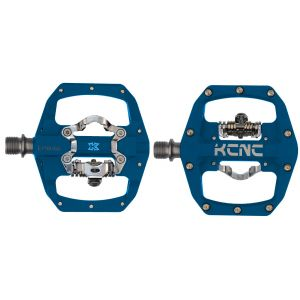 KCNC FR TRAP Clipless Pedal, blue, dual side, CroMo Spindle,  184g