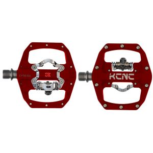 KCNC FR TRAP Clipless Pedal, red, dual side, CroMo Spindle,  184g