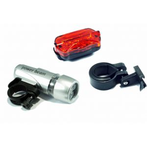 Cycling Spirit, PBS, Set PBF&PBR LED Licht incl Batterien