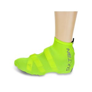 Wind & Waterprotection Shoe Cover Lycra yellow 44-46